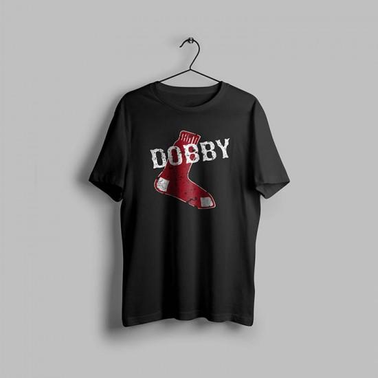 Dobby Çorap Tasarımlı Tshirt