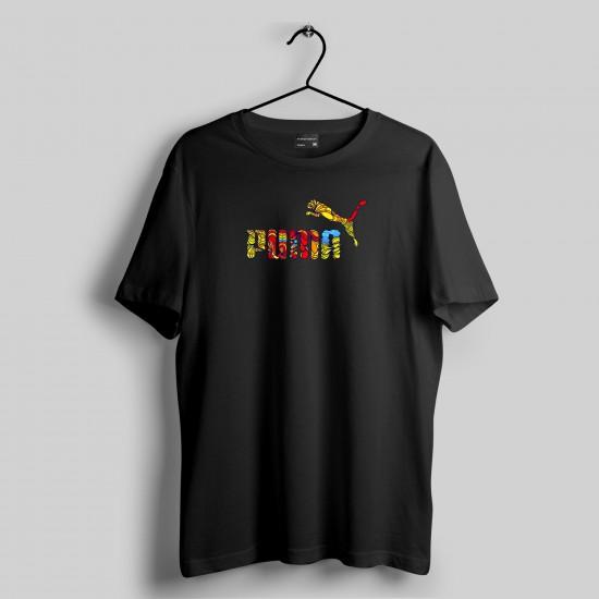 Puma Tasarımlı Tshirt 1