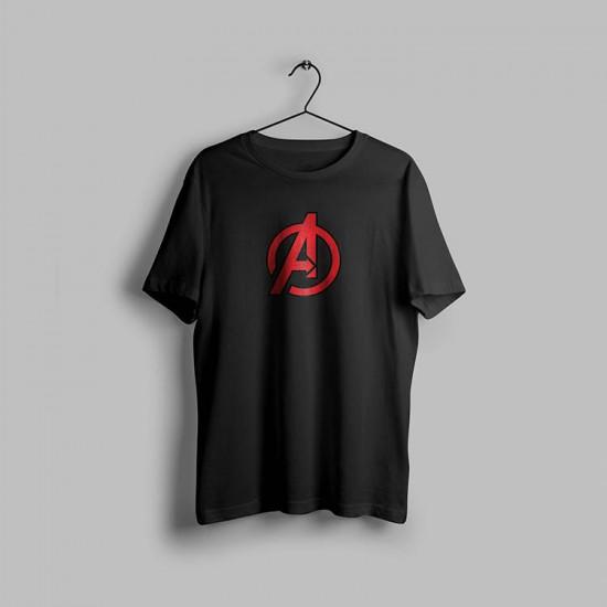 Avengers A Logo Tasarımlı Tshirt