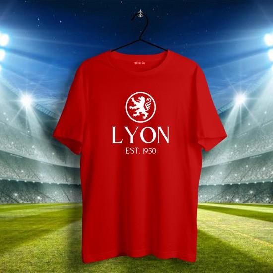 Olympic Lyon Tasarımlı Tshirt 1