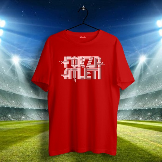Atletico Madrid Tasarımlı Tshirt 2
