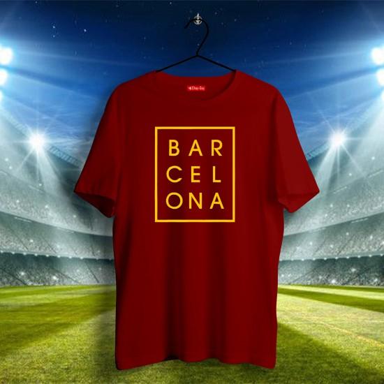 Barcelona Tasarımlı Tshirt 1