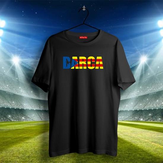 Barcelona Tasarımlı Tshirt 2