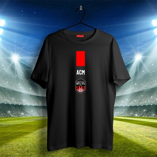 AC Milan Tasarımlı Tshirt 1
