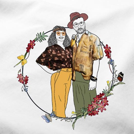 Kişiye Özel Çizimli T-shirt